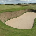 Another deep sand trap.