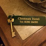 I loved getting a real room key. Leaving it at main desk was a little odd.