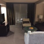 Living room, suite