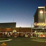 Exterior signage, Canad Inns Destination Center Grand Forks  |  1000 South 42nd Street, Grand