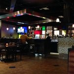 View of the bar area from our seat, 'L Bistro  |  Alerus Center, Grand Forks, ND