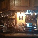 Great little bar area......