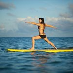 SUP Yoga in Tampa Bay!