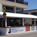 Byron Gourmet Foods & Huey's Sunroom Alfresco Dining Area