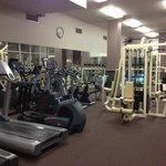 full gym - very impressive