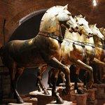 The 4 bronze horses