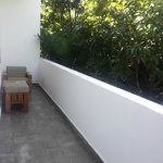 Small balcony in the room
