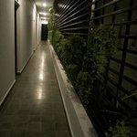 Verandah outside my room