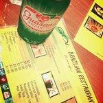 Guarana is a soda made from a Brazilian fruit