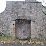 A nice entrance in Romaldkirk