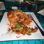 The boar burgers....Yummy