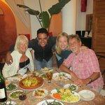 Dinner at Riad