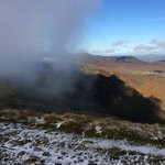 Cloud atmospherics on Dale Head - not my finger!