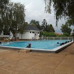 Swimming Pool and attendants in Kampala