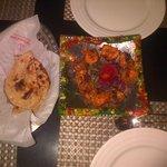 Great chicken tika at the hotel restaurant