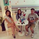 me and 2 girl