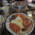 The traditional English breakfast is also tasty