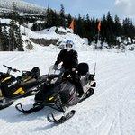 On the Ski-Doo
