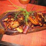Glazed Pork with sweet potatoes