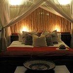 North Camp safari tent