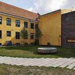 Sorø kunstmuseum's gårdmiljø