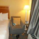 para ler e relaxar..um dos melhores quartos que já fiquei em hotéis