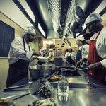 I nostri studenti in cucina