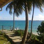 Accès plage