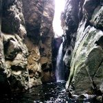 Waterfall abseils in canyoning trip