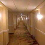 The hall way