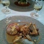 """Un des plats du menu """"la marée"""" a 27€."""