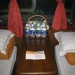 Soft sleeper train Hanoi to SaPa