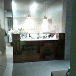 La cucina, a vista discreta