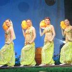 Folk dance artists