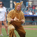Only in Minor League Baseball!