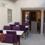 inside breakfast area / reception hall
