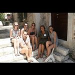 With our tour guide, Doris, on the Island of Hvar