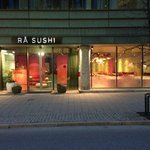 Rå Sushi - entrance