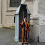 guard at St. Peters