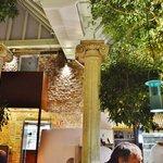 Pizzeria I Giardini - Jardin intérieur