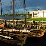 Visit the scenic Museum Harbour and the reconstructed Viking Ships