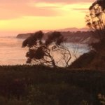 Bacara Landscape at Sunset