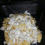 crab & corn risotto