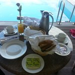 Breakfast in the room is recommended (but not as much choice as the main buffet)