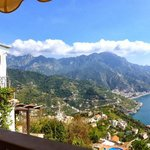View from restaurant in Ravello