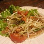 Plat préparé par Pom salade de papaye