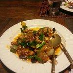 Plat préparé par Pom poulet noix de cajou