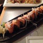 Garlic Salmon Roll