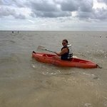complimentary kayak rental on the beach