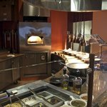 Pizza Oven and Serving Line